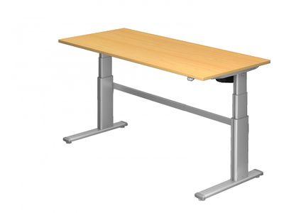 Steh-Sitz Schreibtisch DR-Büro Serie XD - 180 x 80 cm - 7 Farben - elektronisch verstellbar bis 130 cm – Bild 4