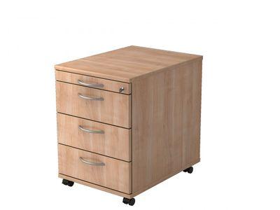 Rollcontainer mit 3 Schubladen DR-Büro - Maße 42,8 x 58 x 59 cm - in 7 Farbvarianten - abschließbar - eine Materialschublade – Bild 8