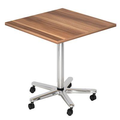Säulenhubtisch DR-Büro Serie VST 80x80 cm - Meetingtisch verstellbar 72 bis 114 cm - 7 Farben - Rollen – Bild 7
