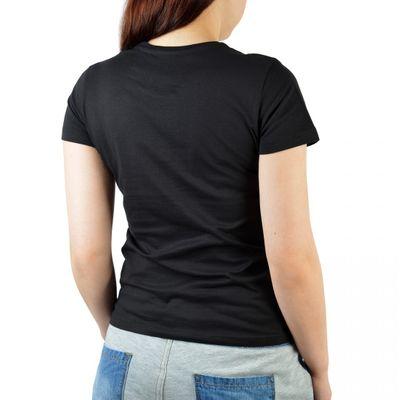 Damen T-Shirt Funshirt - Choppers rule - witziges Motivshirt als Geschenk für Bikerfrauen und Motorrad Fans Bild 2