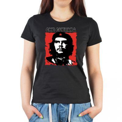 Damen T-Shirt Funshirt - Che Guevara - witziges Motivshirt als Geschenk für Revolutionäre und Che Guevara Fans