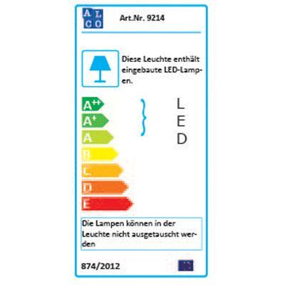 LED Klemmleuchte DR Office 450 - mit Doppelgelenk - silber - 360° drehbar - 230V - 6 Watt - 300lm – Bild 3