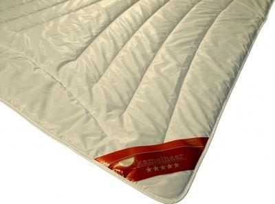 Bettdecke Dormella 135 x 220 / 1650 g - Warmes Winter Duo-Steppbett mit 100% Kamelhaar Füllung – Übergröße – Bild 2