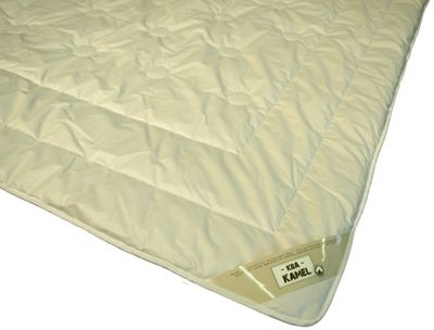 Bettdecke Dormella 135 x 220 / 1650 g - Warmes Winter Duo-Steppbett Dormella 100% Kamelhaar Füllung Baumwoll KBA Bezug – Übergröße – Bild 2