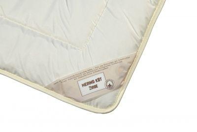 Zirbe Bettdecke Modicana 135 x 220 cm - Extra leichtes Sommer Steppbett - Füllung KBA Merino Schafschurwolle und Zirbenholz Spänen – Übergröße – Bild 2