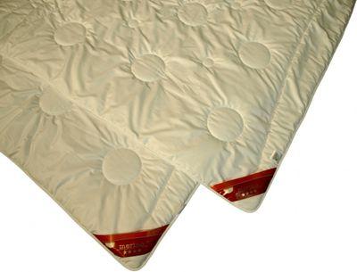 Bettdecke Modicana 135 x 220 / 550 g - Extra leichtes Sommer Steppbett Modicana 100% Merino Schurwolle – Übergröße – Bild 2