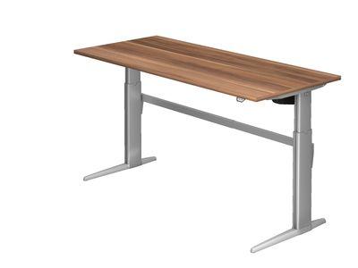 Steh-Sitz Schreibtisch DR-Büro Serie XE - 180 x 80 - 7 Farben - höhenverstellbar bis 119 cm - Elektromotor – Bild 5