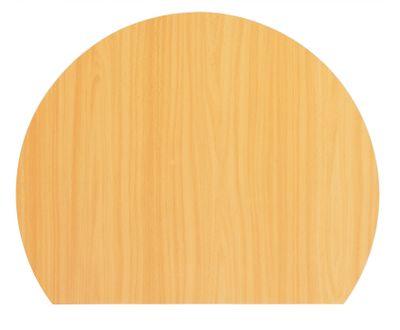 Ansatztisch Hammerbacher VQA80 - Maße: 80 x 100 cm - höhenverstellbar 68 - 85 cm - Anbauplatte für Bürotische in 7 Farben - mit Stützfuß - Montagezubehör enthalten – Bild 7