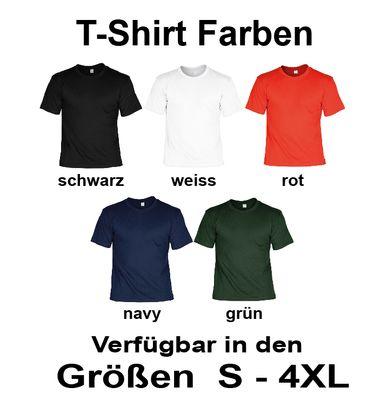 Foto-Shirt zum Urlaub – Bedrucktes T-Shirt mit Wunschbild als originelles lustiges Gruppen-Outfit in 5 versch. Farben 002