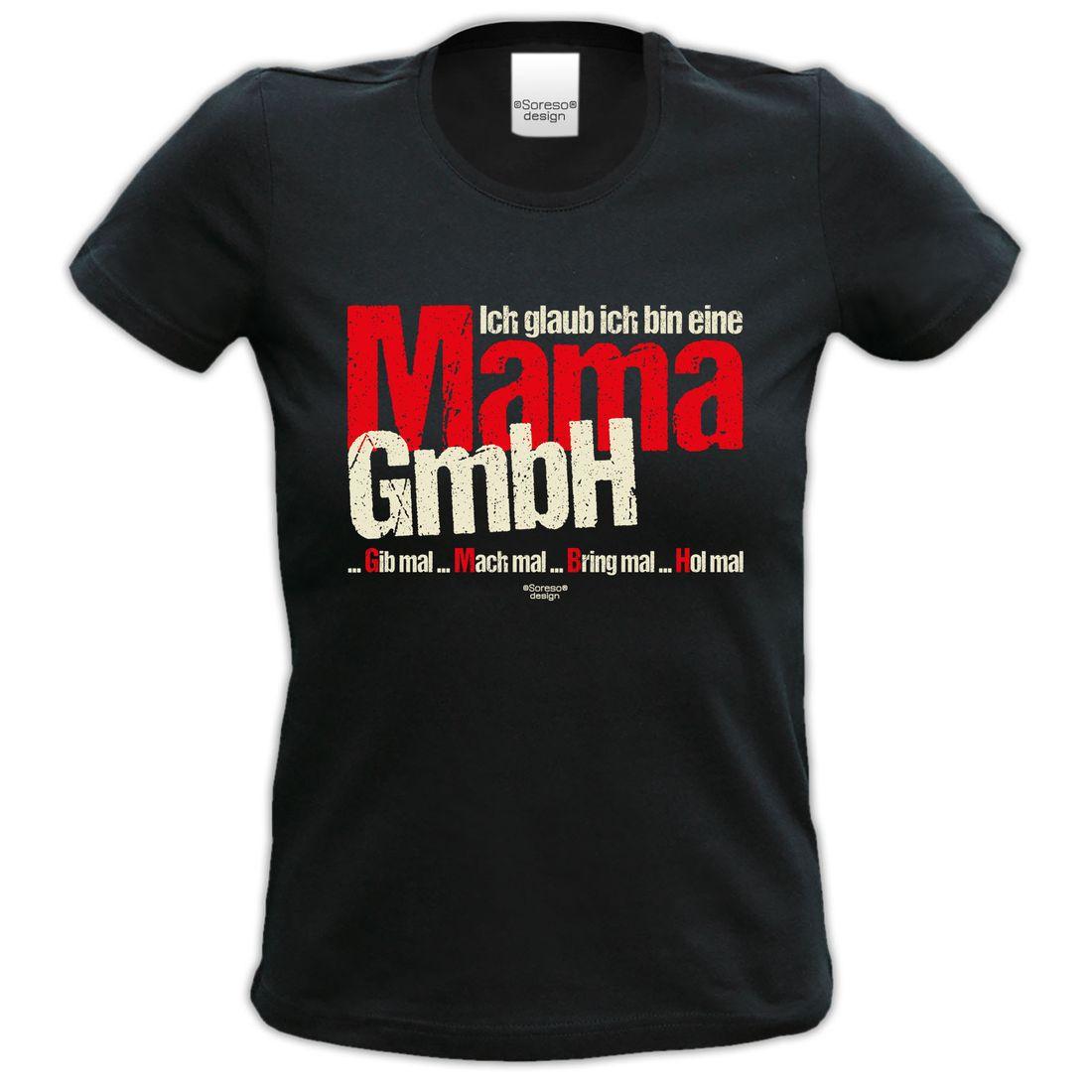 T-Shirt Damen - Ich glaub ich bin eine Mama GmbH - Damenshirt ...