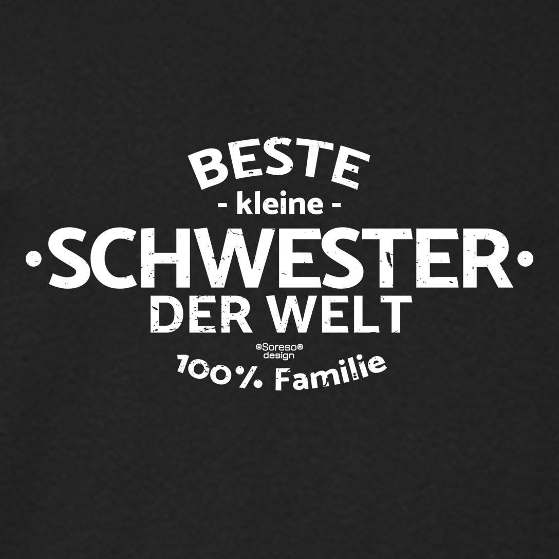 Damen T-Shirt - Beste kleine Schwester der Welt - Damenshirt ...