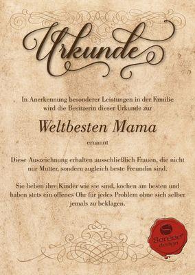 Family Damen Langarmshirt - Mama GmbH - bedruckter Lady Longsleeve als Geschenk oder Outfit für Deine Mutter - schwarz Bild 4