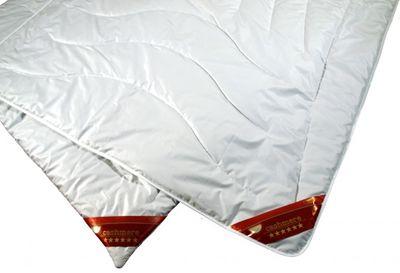 Steppbett Modicana 200 x 200 / 600g - Extra Leichte Bettdecke mit 100% Cashmere Füllung - Steppdecke für den Sommer – Bild 2