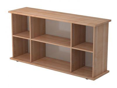 DR-Büro Sideboard Nago - Board mit den Maßen 166 x 44,8 x 84 cm - Kommode mit 2 Türen - Büroschrank in 5 Farbvarianten  – Bild 6