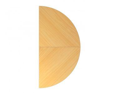 Ansatztisch DR-Büro - Anbauplatte für Schreibtische - Maße: 160 x 80 cm - Arbeitshöhe: 68 - 85 cm - in 7 Farbvarianten - mit Stützfuß - incl. Montagezubehör – Bild 7