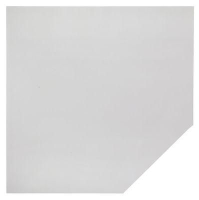 Verkettungsplatte DR-Büro - Anbauplatte für Schreibtische - Maße: 120 x 120 cm - Arbeitshöhe: 68 - 85 cm - in 7 Farben - Trapezplatte mit Stützfuß - incl. Montagezubehör – Bild 5
