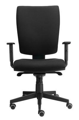 Bürostuhl Hammerbacher Solid - Bürodrehstuhl mit Synchronmechanik - Drehstuhl mit höhenverstellbaren Armlehnen - ergonomischer Chefsessel mit verstellbarer Rückenlehne – Bild 1