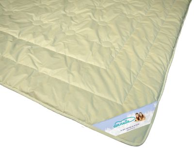 Bettdecke Modicana - Leichte Ganzjahres Duo Decke mit 100% Kamelhaar Füllung und Bio Cotton KBA Bezug – Bild 2