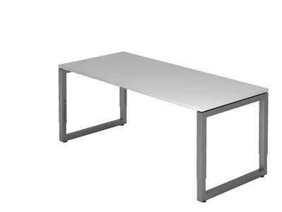 Schreibtisch DR-Büro - 180 x 80 cm - Bürotisch in 7 Farben erhältlich - höheneinstellbar 65 - 85 cm - Gestell Graphit - extrem stabile Konstruktion – Bild 4