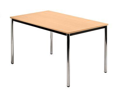 Besprechungstisch DR-Büro Serie D - 120 x 80 cm - 3 Farbvarianten - Meetingtisch Höhe einstellbar 72 cm – Bild 2