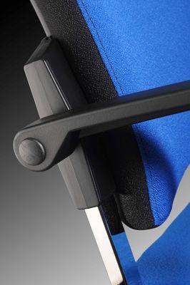 Besprechungsstuhl DR-Büro Serie SB - Konferenzstuhl 2er Set - stapelbar - 2 Farben - Gestell verchromt – Bild 10