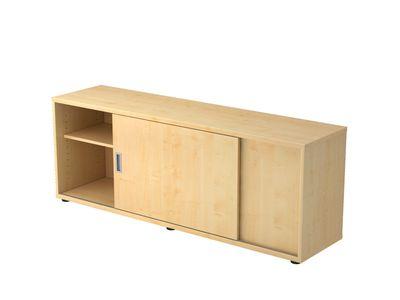 DR-Büro Sideboard V1758S - Board mit den Maßen 160 x 40 x 59,6 cm - verschiedene Aufbauvarianten - Büroschrank in 5 Farbtönen - Schiebetürenschrank – Bild 6