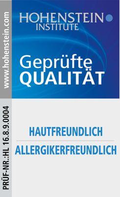Bettdecke Spessarttraum Gold100 - 200 x 200 / Füllgewicht 1240 g - Winter Daunenbett warm, Füllung 100% Gänsedaunen – Bild 5