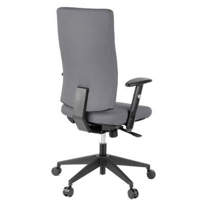 Bürostuhl DR-Büro Arebo - Drehstuhl mit hoher Rückenlehne - Stoffbezug in 3 Farbvarianten - Sitzhöhe stufenlos verstellbar – Bild 10