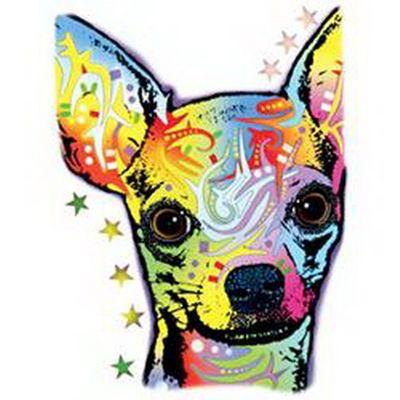 Kinder-Shirt für Jungen - Chihuahua - T-Shirt mit leuchtendem Neon-Motiv Bild 3