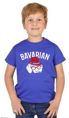 Bayerisches Kindershirt - Bavarian - Dackel Hund - T-Shirt für Jungen zum Oktoberfest