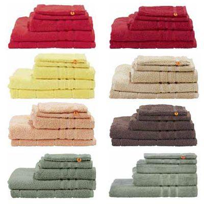 Handtuch Sortiment Daily - Badvorleger Badetuch Frottee 100% Baumwolle - 5 Größen / 8 Farben -  einzeln oder Set – Bild 1
