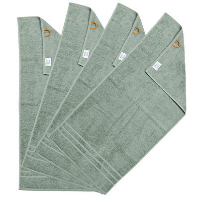 Handtücher Daily 4er Set  -  Frottee-Tuch 100% Baumwolle - 4 Stück - 29 Farben wählbar – Bild 4