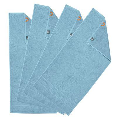 Duschtücher Daily 4er Set - Frottee-Badetuch 100% Baumwolle - 4 Stück - 29 Farben wählbar – Bild 6