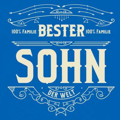 T-Shirt für Herren zu Weihnachten - B e s t e r Sohn - Geschenk-Idee für Lieblingssöhne Bild 2