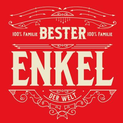 T-Shirt für Herren zu Weihnachten - B e s t e r Enkel - Geschenk-Idee für Lieblingsenkel Bild 2