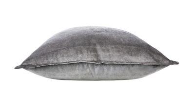Couchkissen Glam - Sofakissen Samt in Farbe Silber - Größen 45x45 cm / 40x60 cm / 65x65 cm - Füllkissen inklusive – Bild 4
