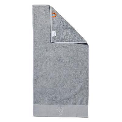 Duschtuch Black-Line Stone - Badetuch mit 5 Strass-Stein Motiven - schwarz oder silber - Exklusives Frottee 100% Baumwolle – Bild 2