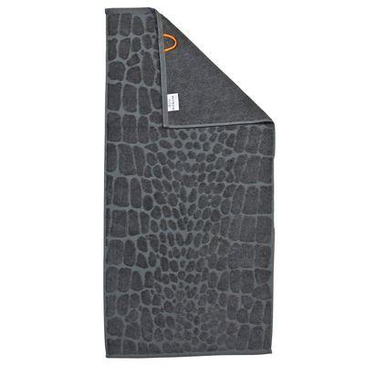 Duschtuch Black-Line Safari 100% Baumwolle - Frottiertuch gemustert  70 x 140 cm - 5 Farbvarianten -  saugfähig – Bild 1