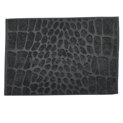 Badvorleger Badematte Black-Line Safari - 100% Baumwolle - Frottee Duschteppich waschbar - 50 x 70 cm - in 5 Farben 001