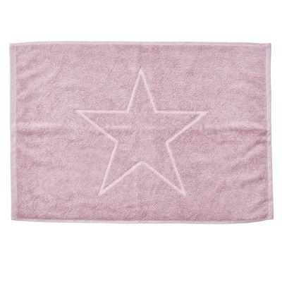 Badvorleger Style-Bathmats Star 100% Baumwolle - Frottee Badteppich Badematte 50 x 70 cm - Motiv Stern – Bild 2