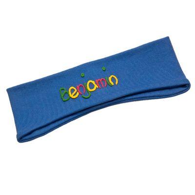 Ohrenstirnband mit Namen für Kinder - Handgefertigtes Geschenk für jede Jahreszeit - Von Hand beschriftet Bild 3