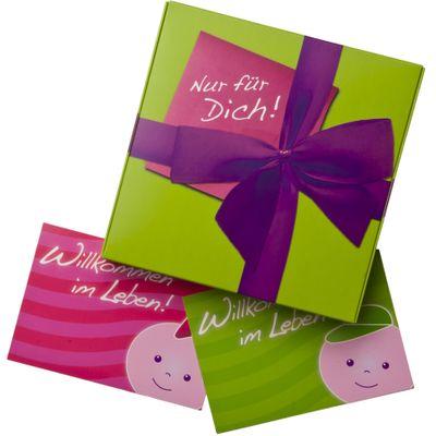Geschenkebox inklusive Karte Bild 3