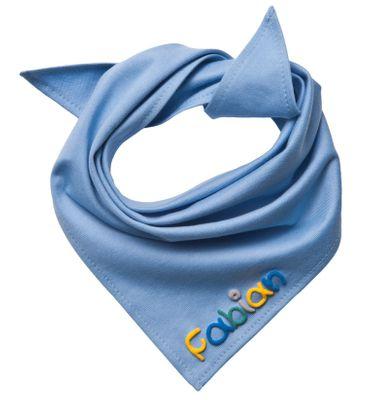 Halstuch mit Namen für Kinder - Handgefertigtes Geschenk für jede Jahreszeit - Von Hand beschriftet Bild 8