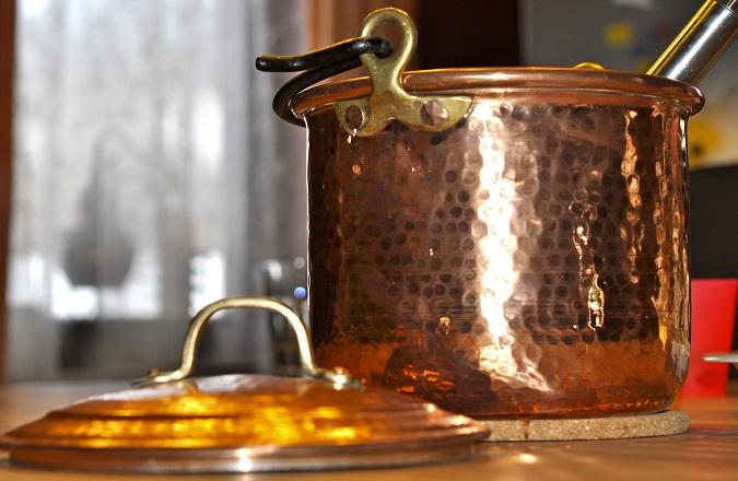 Kochen mit Kupfer