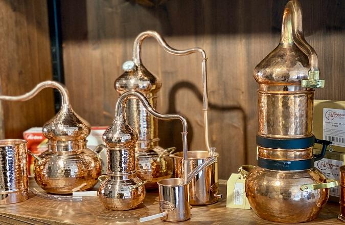 Vielseitig: Destillieren Sie mit oder ohne Kolonne. Leicht zu reinigen.
