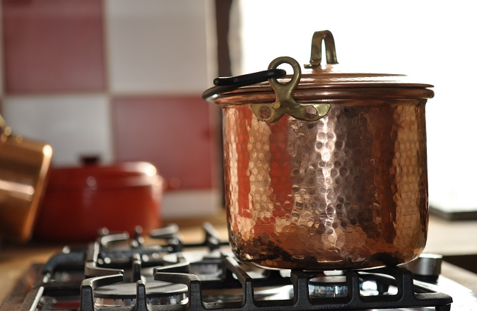 Kupfer, Kochen, Küche - das passt!