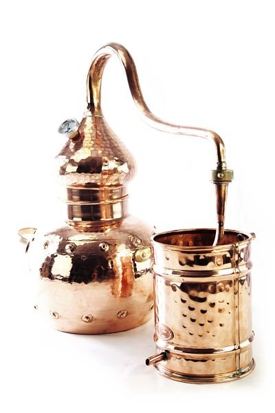 CopperGarden®  still Alembic 2L & thermometer
