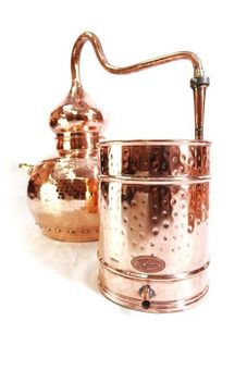 """CopperGarden®"" still Alembik 10L, riveted & thermometer"