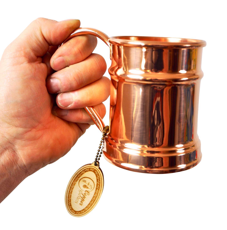 CopperGarden®  Kupfertasse ❀ Humpen 0,5 Liter