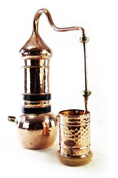 Alambic 5 L à colonne avec thermomètre -   CopperGarden®